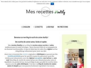 Mes recettes Healthy