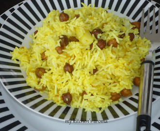 Black Channa/ Senagalu pulao