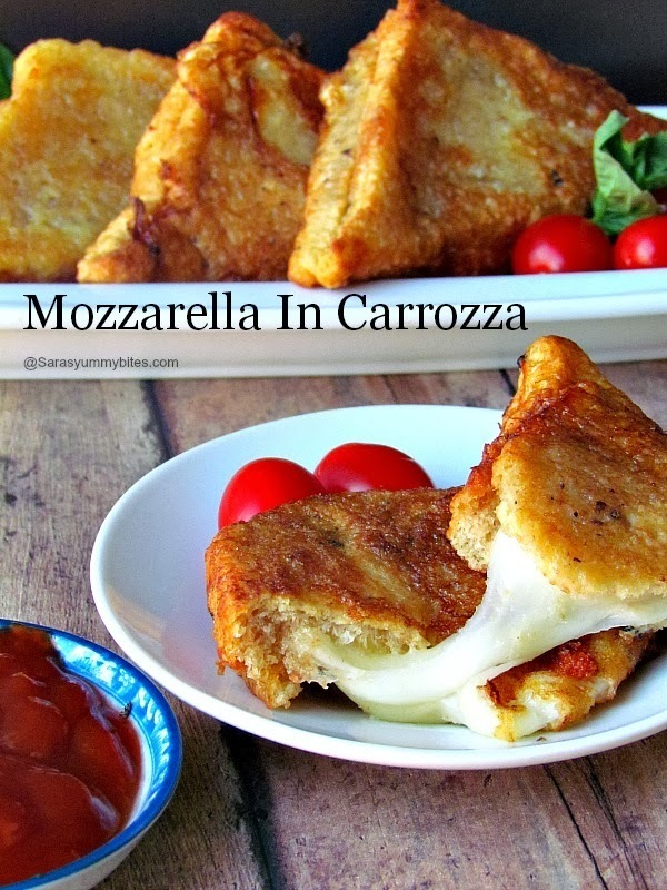 Mozzarella In Carrozza / Fried Mozzarella in a Carriage