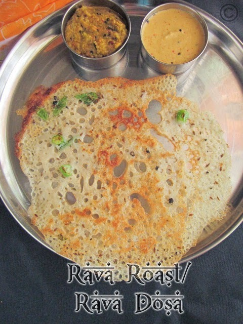 RAVA DOSA I RESTAURANT STYLE CRISPY RAVA DOSA I BREAKFAST RECIPES