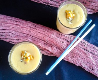 MANGO COCONUT ALMOND SMOOTHIE I VEGAN MANGO SMOOTHIE I SUMMER RECIPES