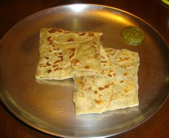 Kitchen Experiments: Stuffed Soya Paratha