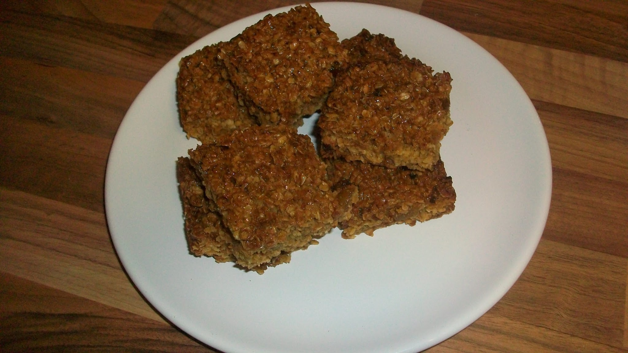 Honey and Ginger Flapjacks