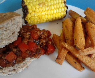 Vegetarian Sloppy Joes (Vegan)