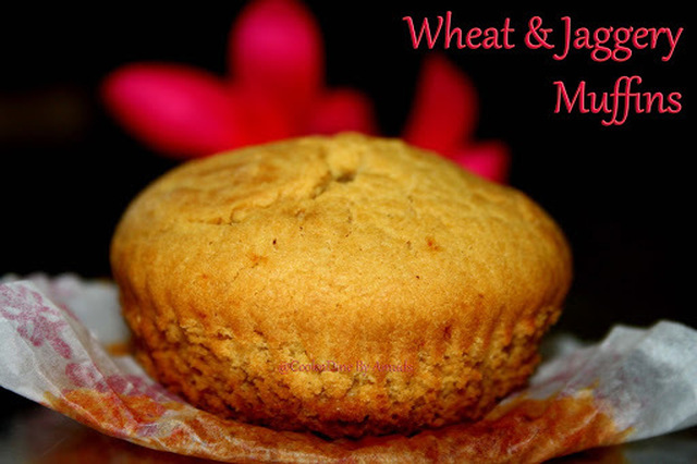 Wheat-Jaggery Muffins(EGGLESS)