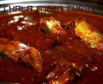 Chala Meen Kulambu/Chala fish Curry (No coconut)