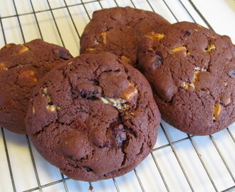 Chocolate Cranberrry Cookies