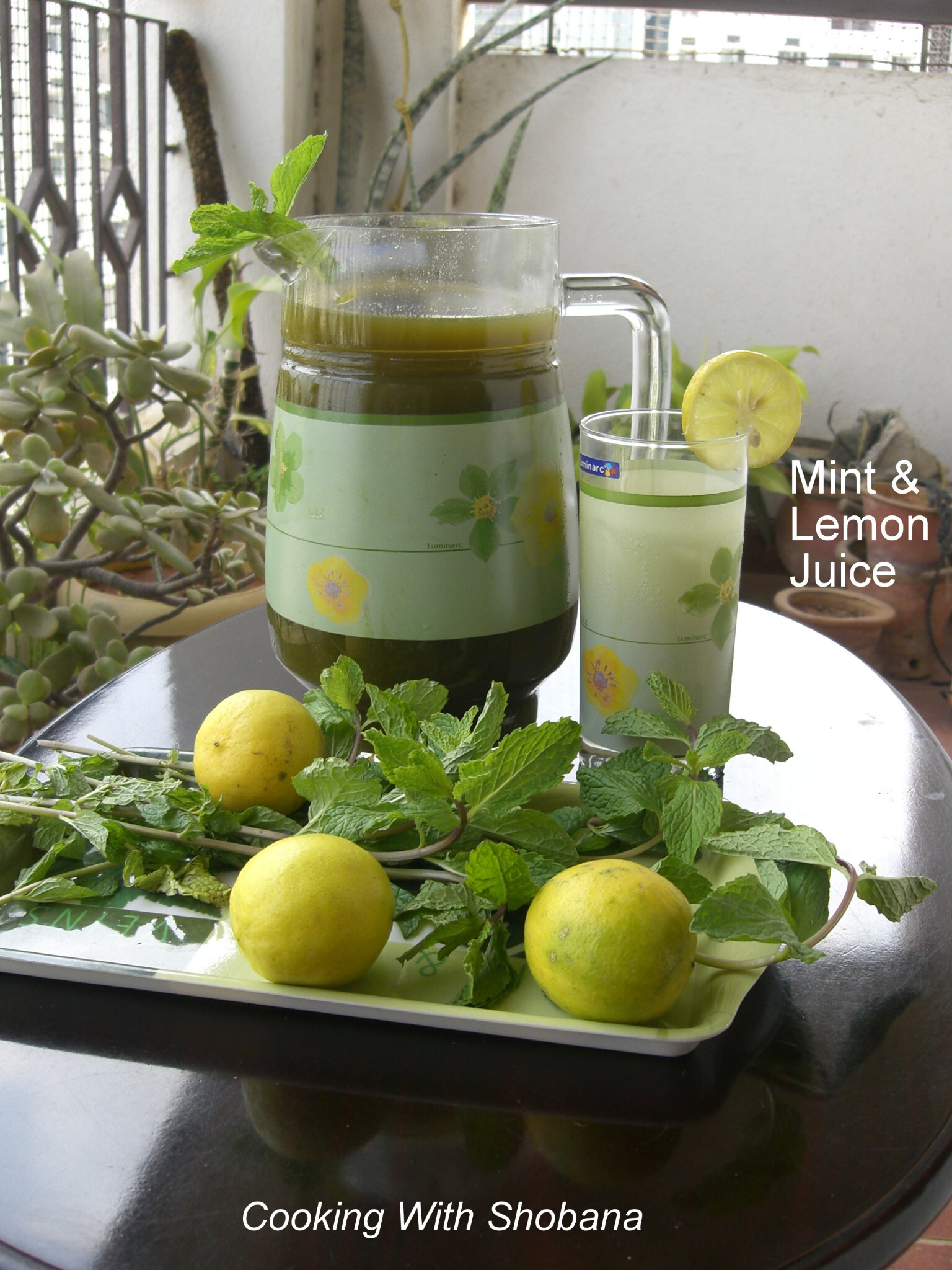 MINT & LEMON JUICE