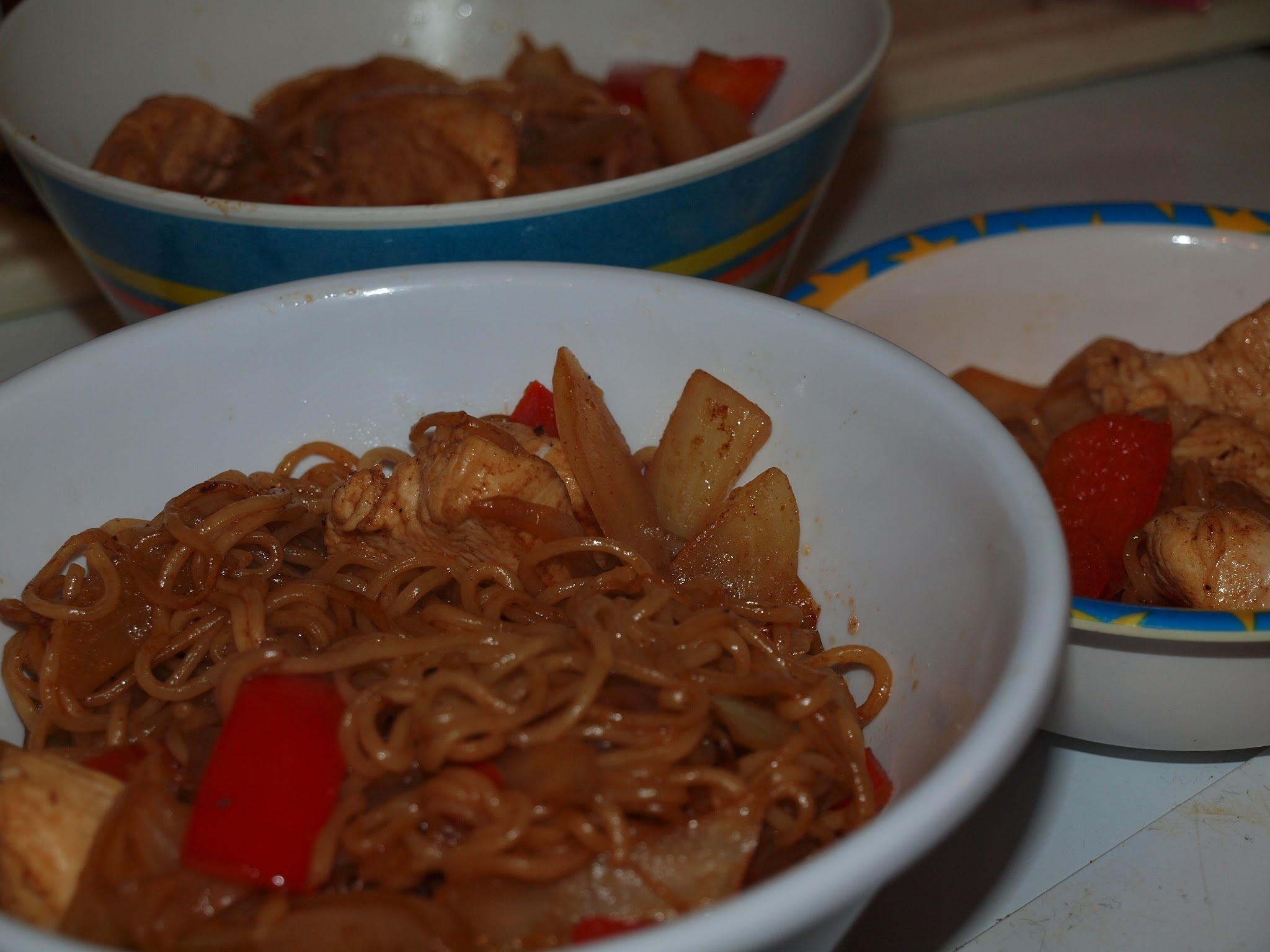 Kids Can Cook - Sticky Chicken Noodles