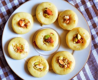 Easy milk peda/dhoodh peda/paal peda recipe | How to make milk peda with condensed milk -Easy method