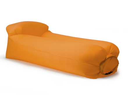 Uppblåsbar Loungesoffa Softybag 2.0 Orange