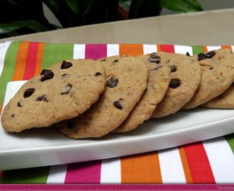 Cookies - Galetes americanes amb anous i chips de chocolate