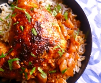 spice up your life! chicken stewed with berber red spice paste