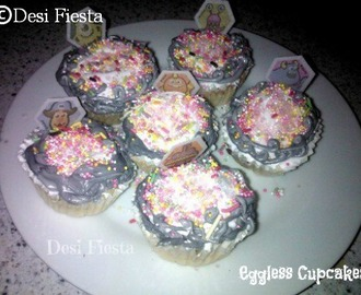 Eggless cupcake (Come on- Lets cook Buddies) Entry 15