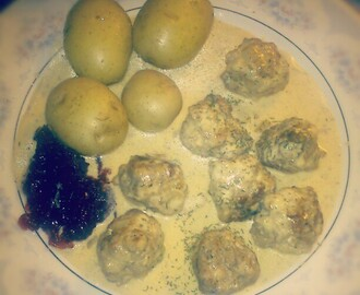 Swedish Meatballs with Dill sauce (like Ikea)