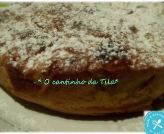Bolo de maçã e World Baking Day