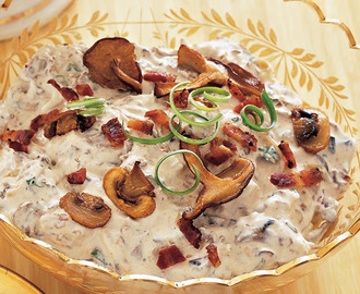 Champignon Bacondip