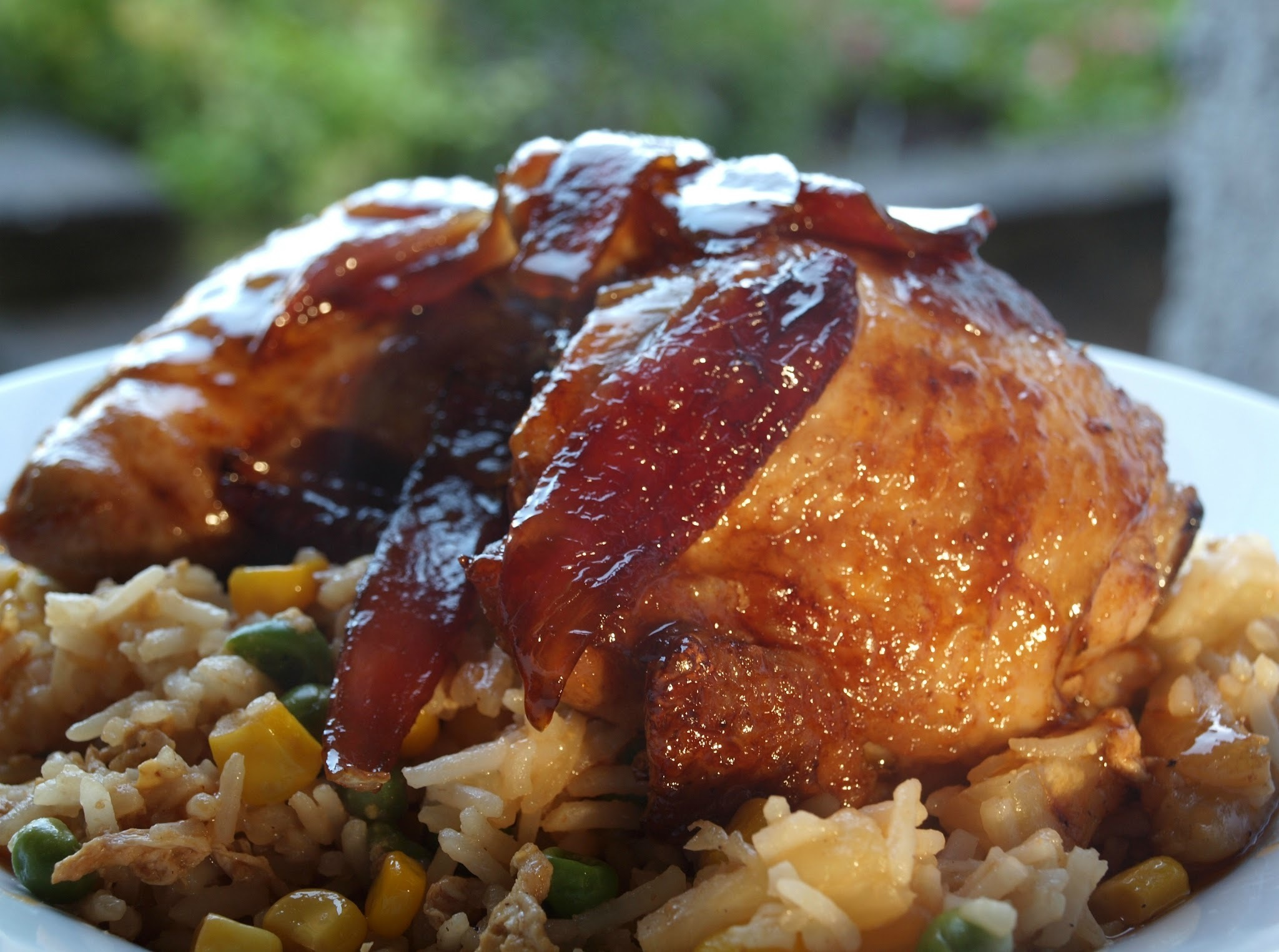 Saucy Chicken & Pineapple fried rice