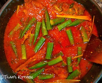 Cat Fish in Spiced Tamarind Gravy (Asam Pedas Ikan Duri)
