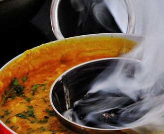 Charcoal Smoked Indian Dal (Smoked lentils)