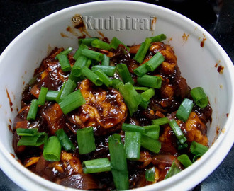 Egg Chilli Fry(Egg Ball Chilli)