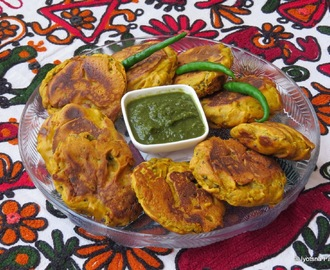 Pan-Fried Aloo Vada For Vada Pav (Indian Pan Fried Potato Patties)