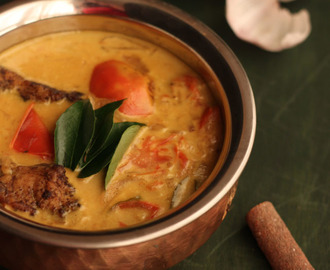 Kerala Fish Molee – Fish cooked in coconut milk