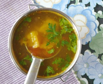 pineapple rasam south indian  / Annasi rasam recipe