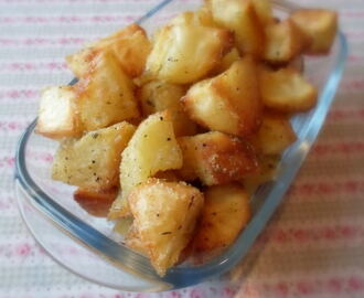 Crunchy Potatoes with Herby Salt