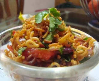 How To Make Shahi Maggi Bhel (Recipe Of Shahi Maggi Bhel)