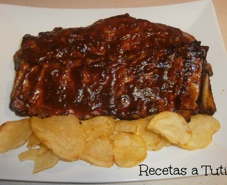 Costillas a la Coca-Cola