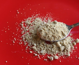 Instant Dal powder for rice - Paruppu podi