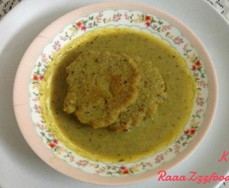 Kadhi (with Tikkis and no Yoghurt)