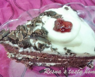 Pressure cooker cake- Black forest