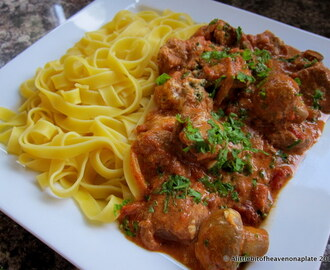 Pork goulash - recipe