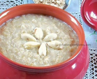 Apple Almond Oatmeal