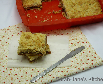 Mincemeat Crumble Slices & Christmas Photos