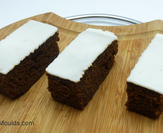 Zingy Lemon & Ginger Iced Gingerbread Cake