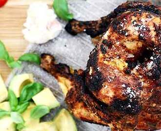 Beer can chicken med variation på Chipotle! - Kronfagel.se