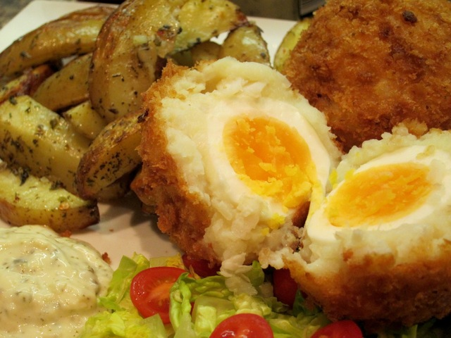 Smoked Haddock Scotch eggs - recipe
