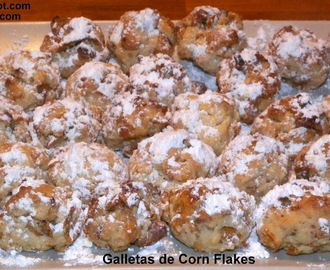 Galletas de Corn Flakes.