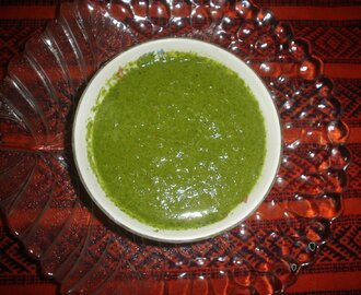 Pudhina Chutney (South Indian Style)