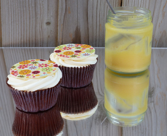 Homemade Lemon Curd and Cupcakes - FOODBUZZ #5 on 28/6/11