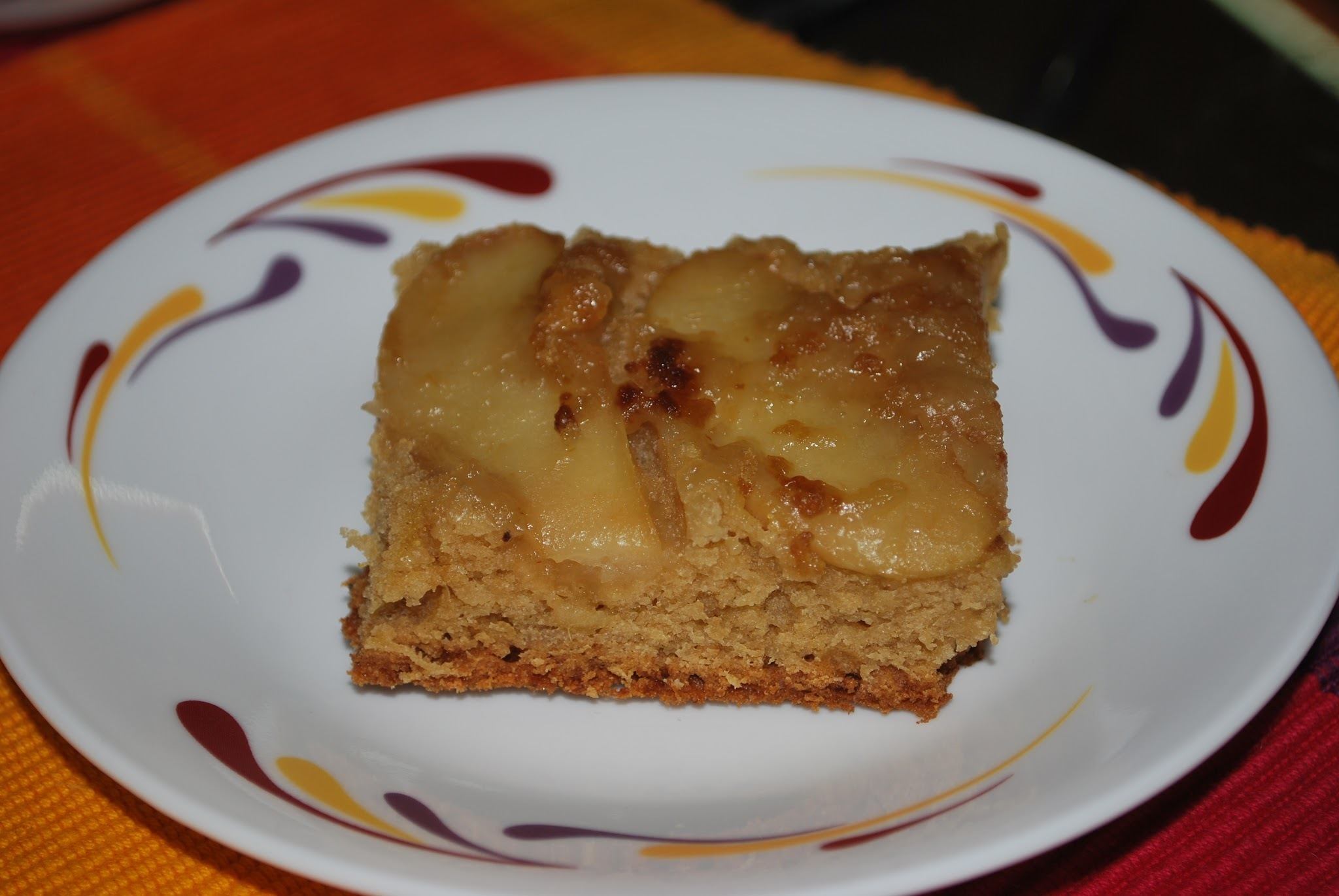 Fresh Apple Cake Pudding
