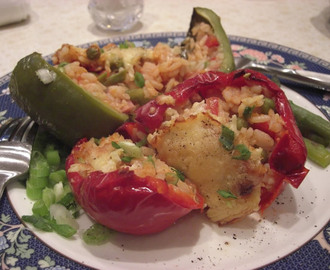 Stuffed Peppers - Halogen Oven Recipe (GUEST RECIPE - HELEN)
