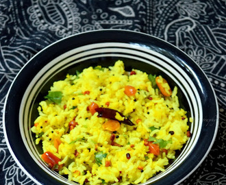 Raw Mango Rice | Mangai Sadham Recipe