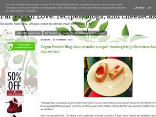 Fat Vegan Love: recipes, blogs, and cheesecake