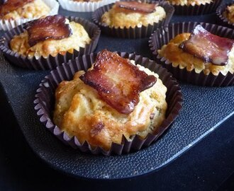Bacon and Thyme Savoury Muffins