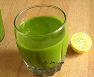 Green Smoothie Recipe – For Beginners and Newbies