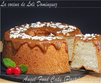 Angel Food Cake (Pastel de ángel)
